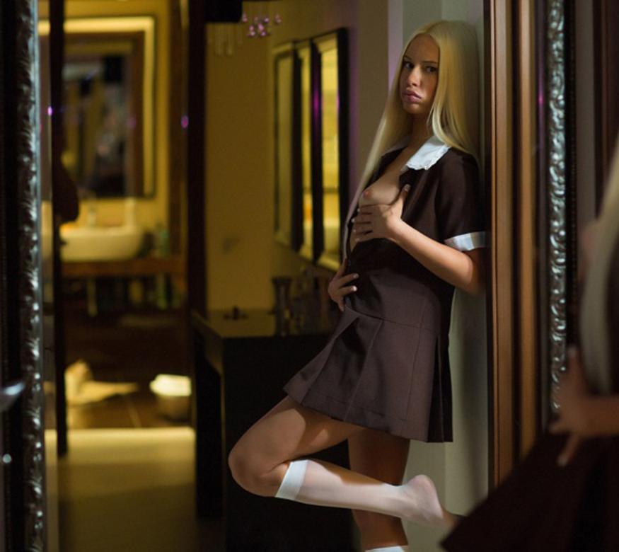 проститутки в авиагородке процессе прогулки девчонка